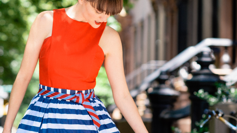 Style Challenge: How to Pull Off Red, White, and Blue