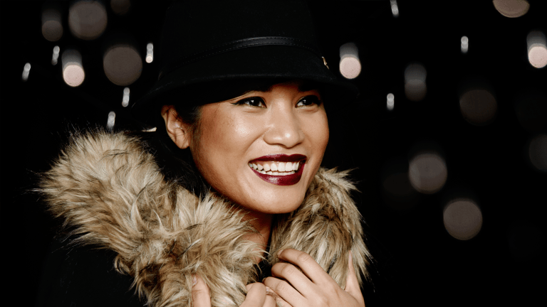 How to Rock Bold, Oxblood Lips With Any Skin Tone