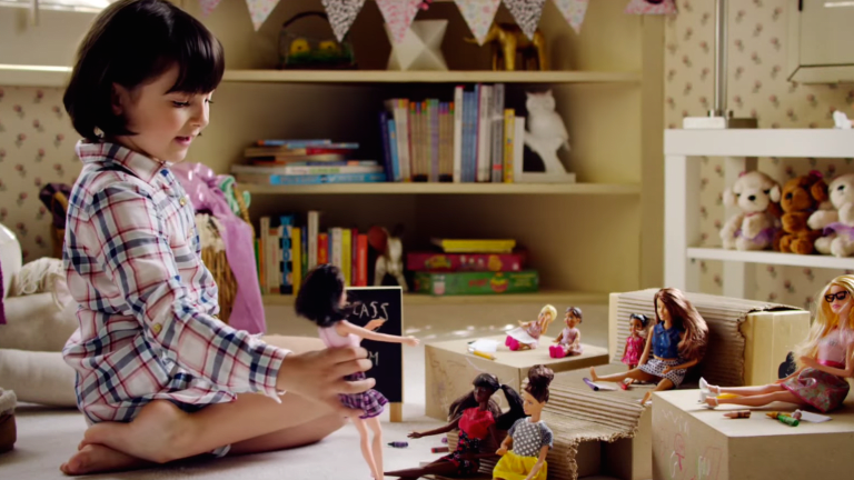 Barbie's New Ad Campaign Is Adorable—and, Dare We Say It, Empowering