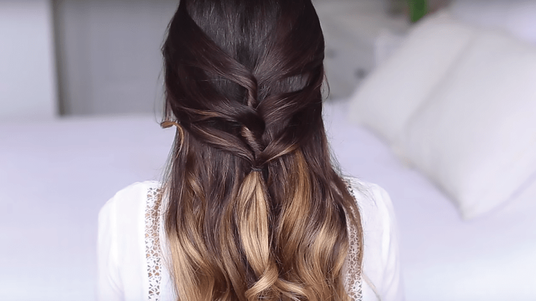 Easy Tutorials for Romantic Half-Up Hairstyles