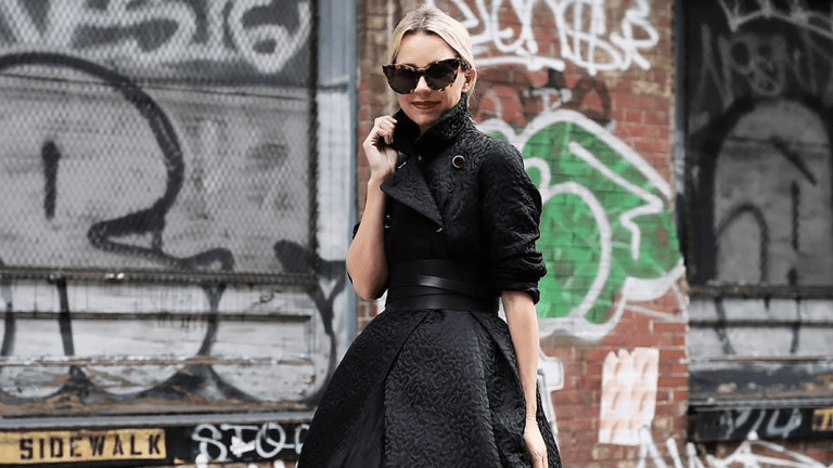 The Perfect Figure-Flattering All-Black Outfits for the Dead of Winter