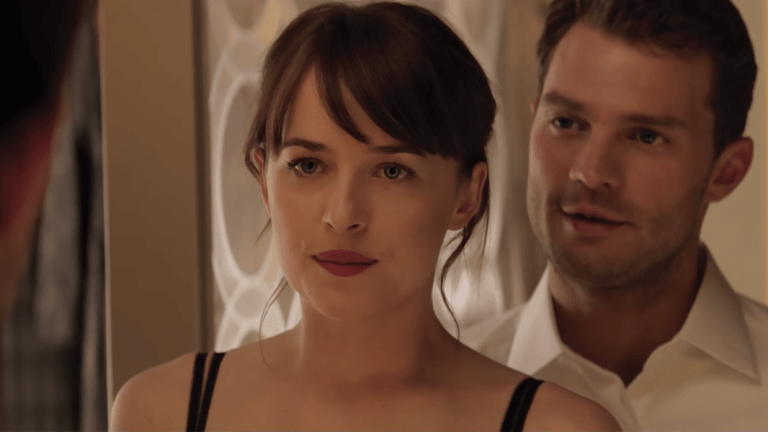 When the 'Fifty Shades Darker' Ads Give You Disturbing Flashbacks, You Know Something's Wrong