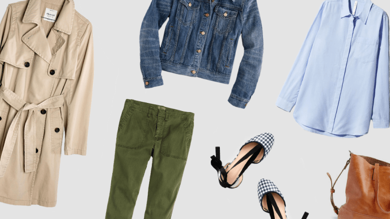 8 Wardrobe Staples You'll Need This Spring
