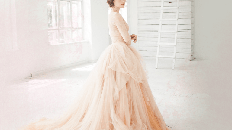 Colorful Wedding Dresses That Will Change Your Mind About White