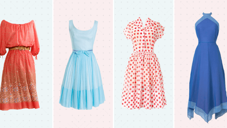 The Best Etsy Shops For Pretty Vintage Dresses