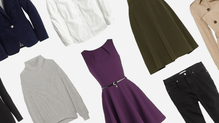 12 Wardrobe Staples That Will Make Your Life So Much Easier This Fall