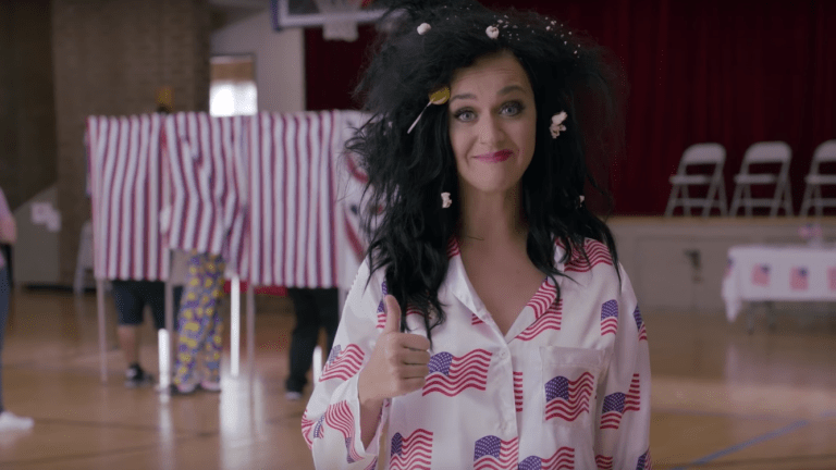 Katy Perry Didn't Have to Get Naked to Encourage Us to Vote