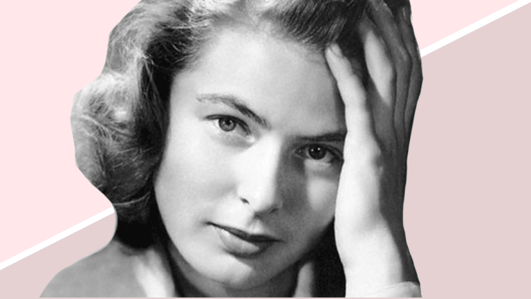 Lessons from Classic Beauty Icons: How to Get Ingrid Bergman's Natural 'No Makeup' Look