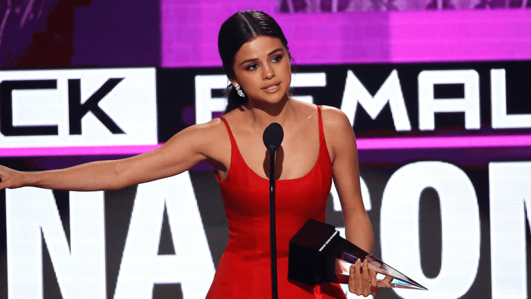 Why Everyone Is Talking About Selena Gomez's AMAs Speech Today