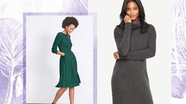 Feminine Long-Sleeve Dresses You Can Wear Everywhere