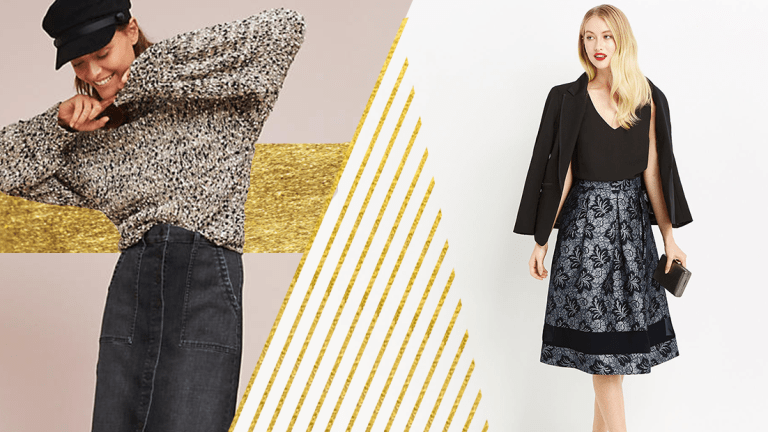 Heavy-Duty Skirts That Will Keep Your Legs Warm All Winter Long