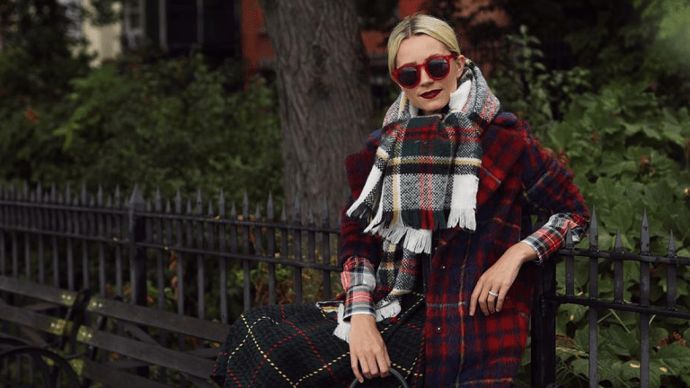Proof That Wearing Plaid Can Be Sophisticated and Not Tacky