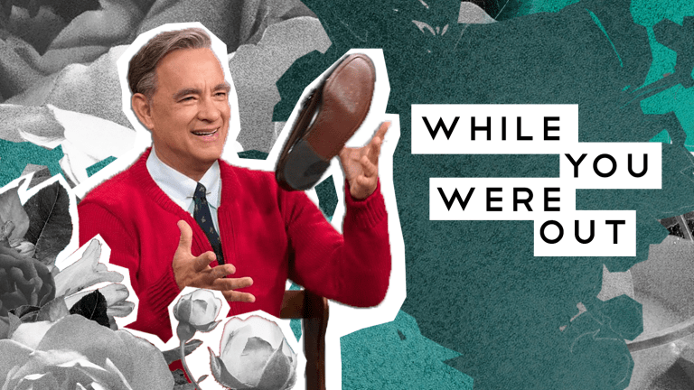 Tom Hanks Delights in Mr. Rogers Trailer, And Other Notes from the Week