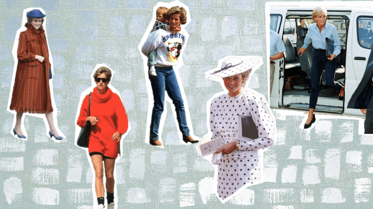True to Form, Princess Diana Foreshadowed Our Current Street Fashion