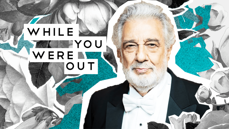 Plácido Domingo Withdraws from Met Opera amid Sexual Assault Allegations—and Other Notes from the Week