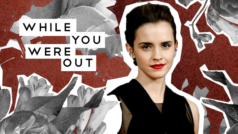 Emma Watson Says She's 'Self-Partnered,' Not Single—and Other Notes from the Week