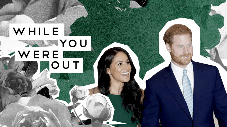 Meghan and Harry Announce Step Back from Senior Royal Status, And Other Notes From the Week