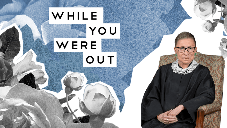 Ruth Bader Ginsburg (1933‒2020), and Other Notes from the Week