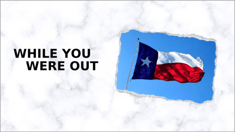 A New Abortion Law Takes Effect in Texas, and Other News from the Week
