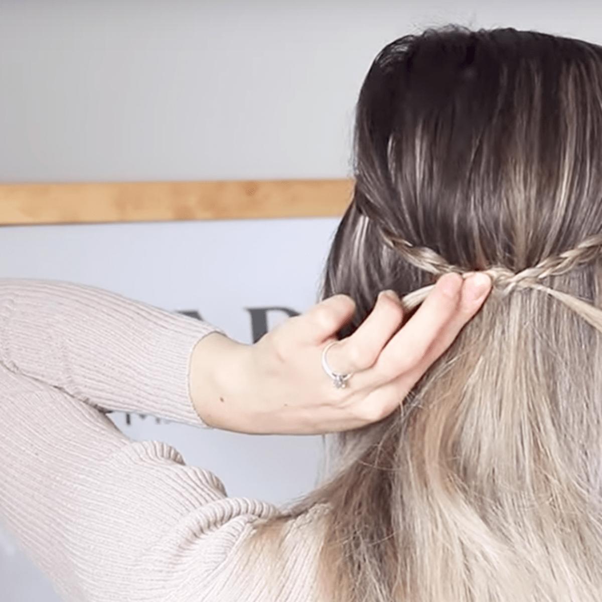 The Best Hair Tutorials For Hiding Greasy Hair Verily