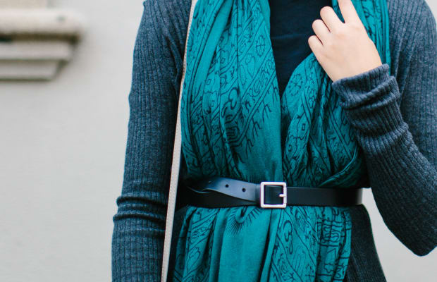 4 Chic Ways to Get Wrapped Up in Your Blanket Scarf