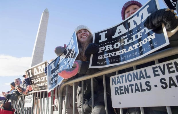 The March for Life Includes Call for 'Compassion, Not Confrontation'