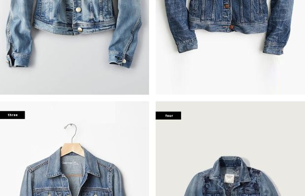 1. American Eagle Outfitters, $70 / 2. J. Crew, $128 / 3. Gap, $70 / 4. Abercrombie & Fitch, $98