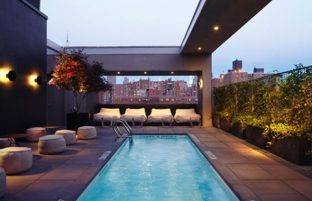 LaPiscine, Hotel Americano, New York