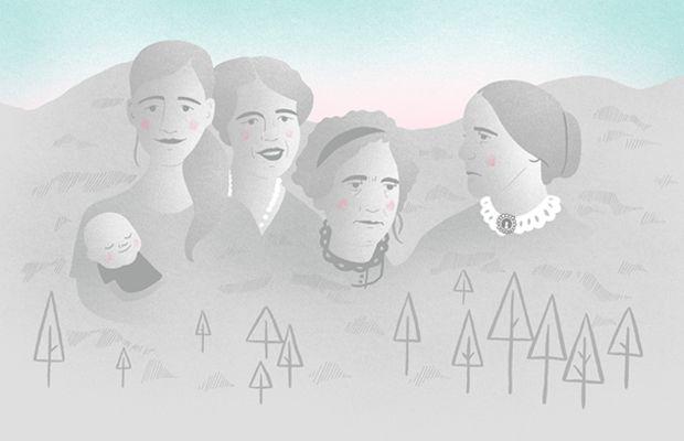 Mt Rushmore for the Ladies