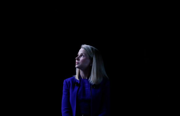 Marissa Mayer Yahoo pregnancy maternity leave in the USA female CEOs women in the workplace sexism Fortune 500 companies working mothers double standards business