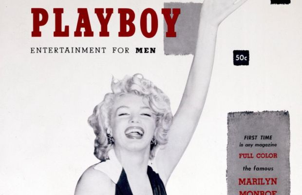 The First Print Issue of Playboy, 1953