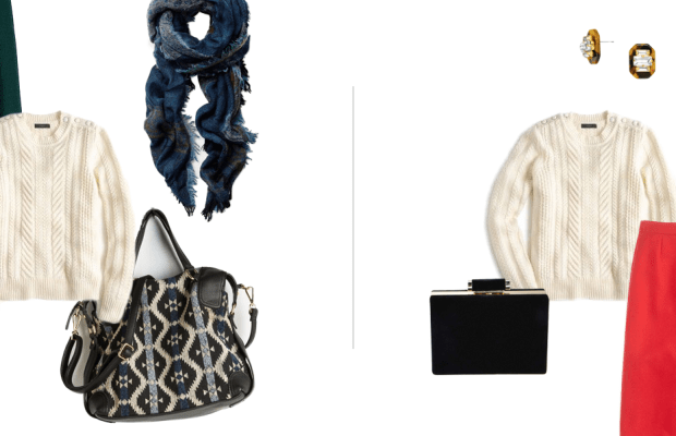 Transform Your Favorite Sweater from Day to Night with These Easy Tips