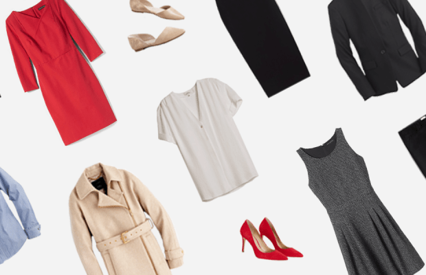 This Easy Formula Will Help You Build an Office Capsule Wardrobe