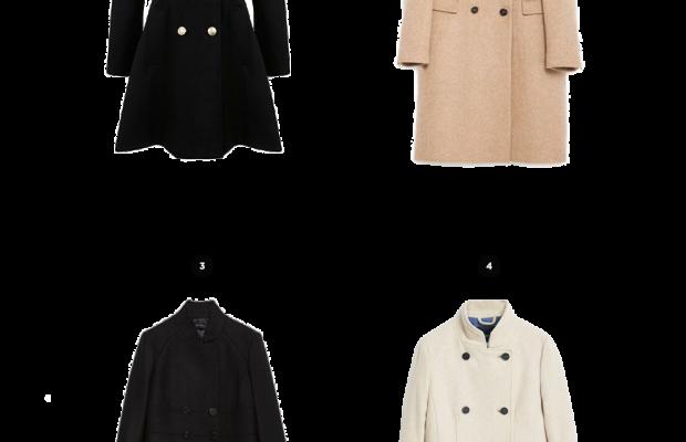 1. Lord & Taylor, $155 / 2. Zara, $199 / 3. Zara, $189 / 4. Mango, $130
