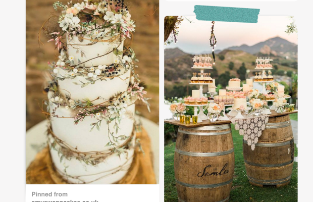 Images via: Want That Wedding / Style Me Pretty / Amy Swan Cakes / Brides / Adriana Klas Photography