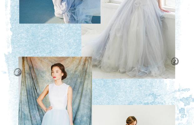 1. Cathy Telle, $1,050 / 2. Carousel Fashion, $1,650 / 3. Milamira Bridal, $680 / 4. Carousel Fashion, $1,095