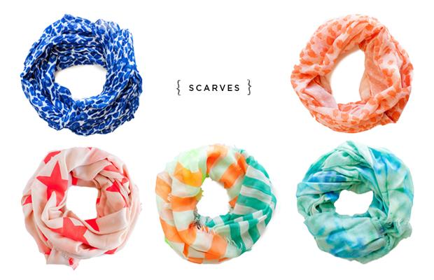 Verily_Summer Scarves