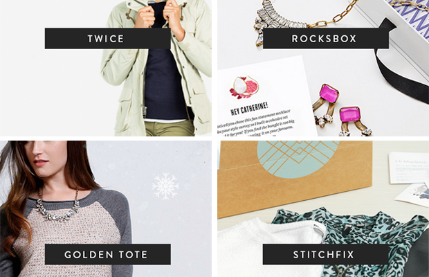 online shopping, holiday style, rent your jewellry, fashion delivery services, rocksbox, golden tote, stitch fix