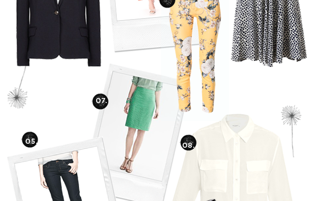 Dressing with Intention staples