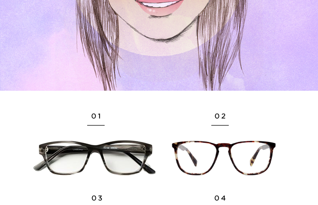 1. Classic Specs, $89 / 2. Warby Parker, $95 / 3. Warby Parker, $95/ 4. Warby Parker, $145 / 5. Lookmatic, $99 (similar) / 6. Warby Parker, $95