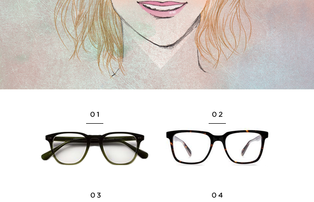 1. Classic Specs, $89 / 2. Warby Parker, $95 / 3. Eyefly, $94 / 4. Lookmatic, $99 / 5.Classic Specs, $89 / 6. Warby Parker, $95
