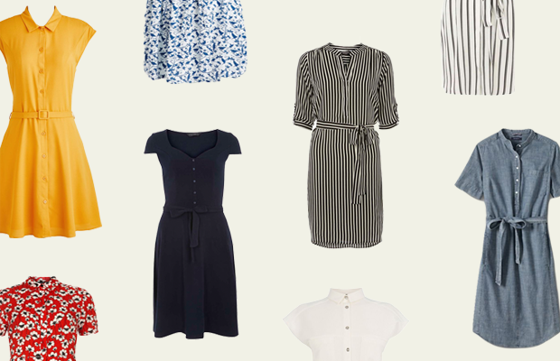 outfit inspiration shirt dresses affordable style summer trends