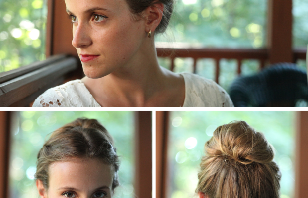 updo hair tutorials easy and quick hairstyles for long hair milkmaid braids chignon twist ponytail beauty style