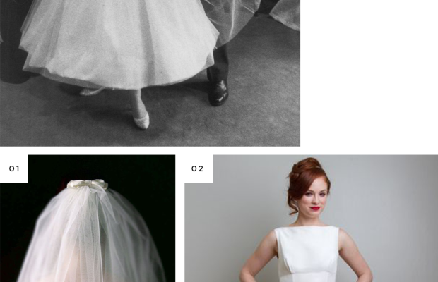 iconic wedding dress looks recreated white dresses inspiration Kate Middleton Audrey Hepburn Grace Kelly Sound of Music Julie Andrews
