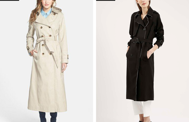 fall trench coats tailored coats outerwear style trends fall 2015 long trench coat
