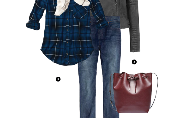 1. Old Navy, $23 / 2. Oasis, $210 / 3. Abercrombie & Fitch, $29 / 4. Madewell, $90 / 5. Sole Society, $60/ 6. Converse, $50