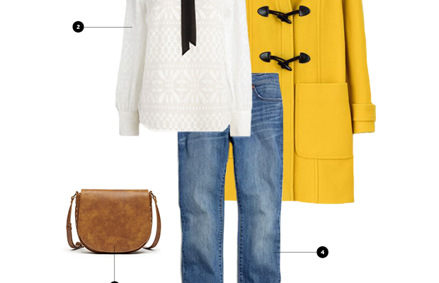 1. Boden, $268/ 2. ModCloth, $38/ 3. Sole Society, $55/ 4. Madewell, $128/ 5. Sole Society, $100