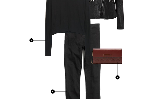 1. BaubleBar, $28/ 2. House of Fraser, $247/ 3. Aritzia, $45/ 4. Charles & Keith, $50/ 5.Madewell, $125/ 6. Urban Outfitters, $98