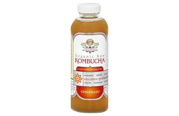 GTS Organic Raw Kombucha Gingerade