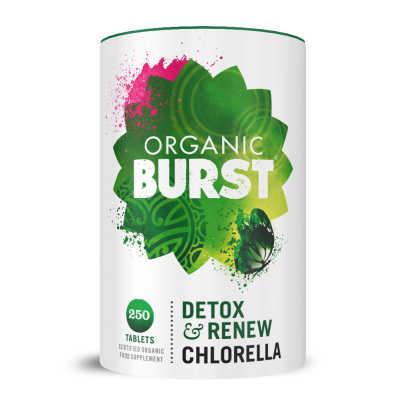 organic burst chlorella